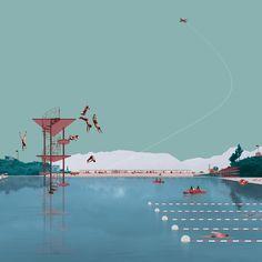Piovenefabi arquitectos. Imagen cortesía de Esarq-UIC. Señala encima de la imagen para verla más grande