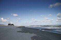 Strandhuis op Schiermonnikoog