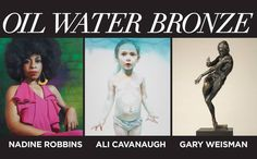 Join us at Sirona Fine Art for the Opening of 'Oil Water Bronze' on Friday, Dec.4 from 6-9pm --> three distinct talents come together for OIL WATER BRONZE, an exhibition at Sirona Fine Art. Three separate masters, in three separate media. Nadine Robbins, Ali Cavanaugh, and Gary Weisman - This phenomenal fine art exhibition runs from Dec.4, 2015 through Jan.4, 2016. Sirona Fine Art is situated in The Village at Gulfstream Park - 600 Silks Run - No.1240, in Hallandale Beach, Florida 33009.