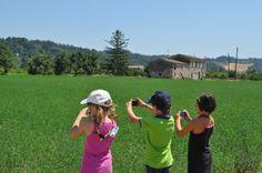 alcuni piccoli esploratori di Borgo Indaco alla ricerca delle città invisibili.