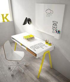 Battistella Graphic rewritable Childrens Desk whiteboard