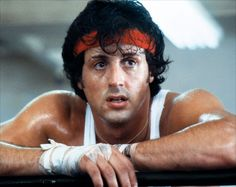 """Image Detail for - Rocky Balboa (Sylvester Stallone) – """"Rocky"""": Philadelphia's favourite cinematic son may not have been an Olympian himself, but the eternal underdog ce. Rocky Ii, Rocky 1976, Rocky Balboa, Rocky Sylvester Stallone, Stallone Rocky, Sage Stallone, Miranda Bailey, Frank Underwood, Don Draper"""