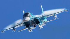 """Sukhoi Su-34 """"Fullback""""."""
