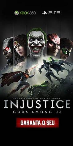 Quero jogar Liga da Justiça! via Omelete: Cinema, Séries de TV, Quadrinhos, Games e Música