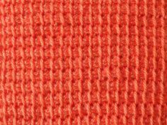 Tunisch haken Tunisian Crochet, Diy Crochet, Crochet Stitches, Blanket Stitch, Beautiful Crochet, Tapestry, Wool, Knitting, Pattern