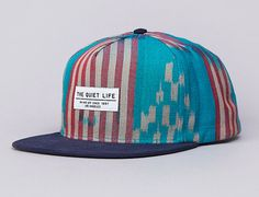 Ikat Snapback Cap By THE QUIET LIFE