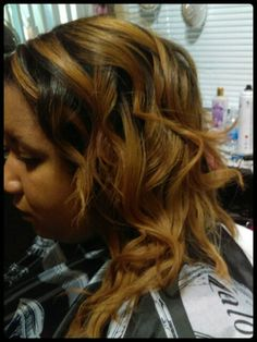 Color and cut and styled