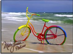 Trademark Global Mike Jones Photo 'Rainbow Bike' Canvas Art - 47 x 35 x 2 World Of Color, Color Of Life, Rainbow Bike, Taste The Rainbow, Rainbow Things, Bicycle Art, Bicycle Rims, Old Bikes, Belle Photo