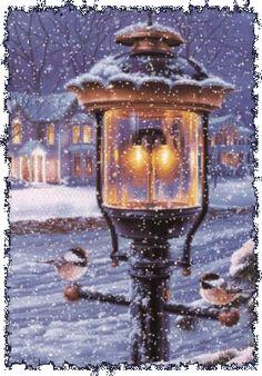 christmas scenes beeindruckendes Bild S -