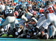 Falcons Panthers Football Jonathan Stewart