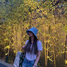 Image may contain: tree, plant, outdoor and nature J Pop, Rapper, Ulzzang Girl, New Girl, K Idols, Kpop Girls, Korean Girl, Korean Style, Asian Girl