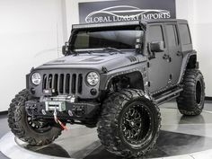 2014 Jeep Wrangler Unlimited Sport $88K in Upgrades - Matt Forte Trade In - Pre-Owned Luxury Car Dealer | Chicago and Burr Ridge, Illinois