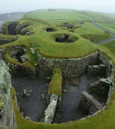 Viking settlement Shetland islands 800AD