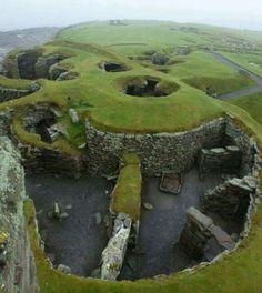 Viking settlement Shetland islands 800AD