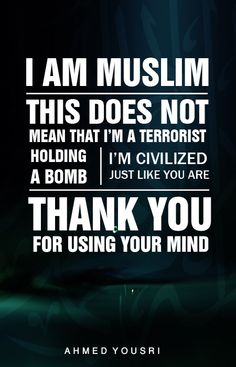 Yes i am a muslim and proud of my perfect religion that Allah guided me to... Alhamdulilah Alhamdulilah Alhamdulilah