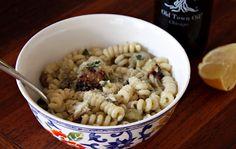 Seaweed & Sassafras: Roasted Eggplant Pasta Salad