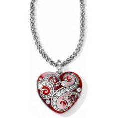 Brighton Bella Love Heart necklace is striking!