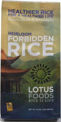 Lotus Foods Heirloom Forbidden Black Rice®