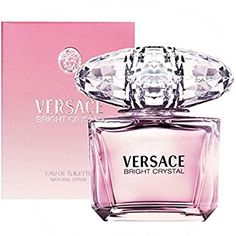 Bright Crystal by Versace, Eau de Toilette. A lightly floral, feminine fragrance… Bright Crystal by Versace, Eau de Toilette. Perfumes Versace, Versace Fragrance, Perfume Hermes, Fragrance Parfum, Fragrance Outlet, Patchouli Perfume, Perfume And Cologne, Best Perfume, Perfume Bottles