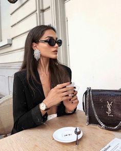 Fashion Style Luxury Chic 34 Ideas For 2019 Luxury Lifestyle Fashion, Luxury Fashion, Lifestyle Blog, Mode Outfits, Fashion Outfits, Womens Fashion, Fashion Kids, Fashion Black, Fashion Style Women