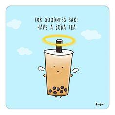 Bubble Boba, Bubble Drink, Bubble Tea Shop, Bubble Milk Tea, Boba Smoothie, Tea Wallpaper, Blue Quotes, Tea Quotes, Food Cartoon