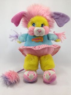 "Vintage Popples Cheerleader Popple Plush 13"" Stuffed Animal (#03) #Popples"