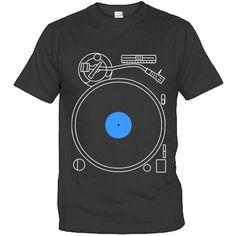 Turntable I DJ T-Shirt Design. #dj #djculture #tshirts http://www.pinterest.com/TheHitman14/dj-culture-vinyl-fantasy/