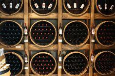 wine restaurant | CRUSH Wine Club Wine Display – Domaine de Grand Pré