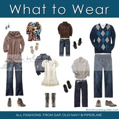 What to Wear: Fall Family