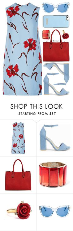 """Untitled #2713"" by naomimjc ❤ liked on Polyvore featuring Miu Miu, Nly Shoes, Oscar de la Renta and Kate Spade"