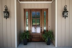 Front Door With Sidelights Oversized Exterior Lights And