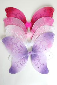 Flower Girl Dresses -   Butterfly Wings in Choice of Color