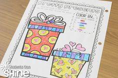 Valentine's Day Printables, Crafts, & iPad FUN!