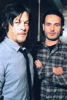 The Walking Dead - Norman and Andrew