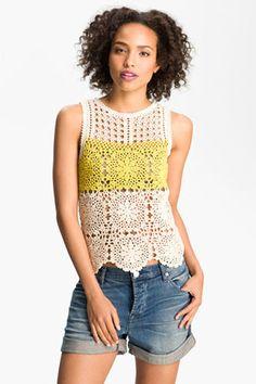 Crochet Fashion- Woven Fabrics And Macrame For Layering