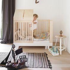 Kutikai Umbauset für Babybett Roof 140 x 70 cm