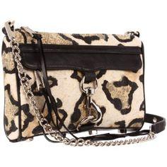 mini leopard clutch | rebecca minkoff
