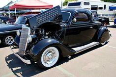 '35 Ford Custom.