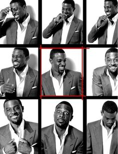 Lance Gross, the epitome of handsome!