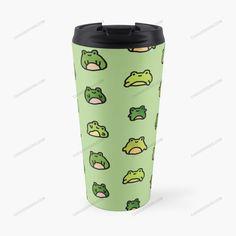 Frogs Doodle Travel Mug