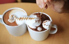 Latte art created by Kohei Matsuno , also known as Mattsun, He receives various design requests from his fans, and on the baris of each request, he creates a 3D from image on top of a cup of coffee.