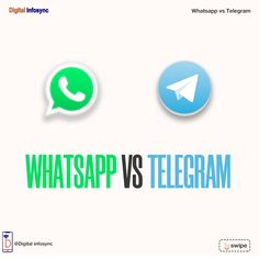WhatsApp is the most engaged top social messaging application owned by the giant Facebook corporation. It was one of the biggest gulps of acquisition at the time when Facebook brought WhatsApp. #digitalinfosync #digitalmarketing #socialmediamarketing #socialmedia #facebookmarketing #socialmediaadvertising #socialmediaads #whatsapp #telegram #whatsappvstelegram #whatsappusers #telegramusers #telegramvswhatsapp Facebook Marketing, Social Media Marketing, Digital Marketing, Ads, Messages, Business, Store, Text Posts