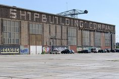 NDSM worksheds for the creative community in amsterdam