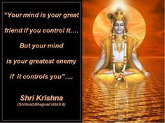 .geeta saar Shree Krishna, Radhe Krishna, Gita Quotes, Wisdom Quotes, Hinduism Symbols, The Mahabharata, Cute Krishna, Mental Health And Wellbeing, Lord Vishnu