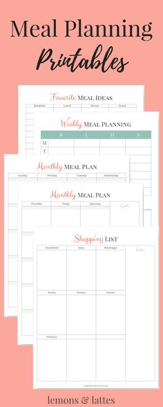 Free Printable Perpetual Calendar Planner Pages Planners