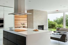 Hillcrest House - midcentury - kitchen - new york - Jeff Jordan Architects LLC