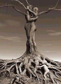 ♥ Love with strong roots does not die even in colder winters Pan Africanism, African Proverb, Tree Carving, Unusual Art, Secret Love, Couple Quotes, Unique Photo, Art Therapy, Spirituality