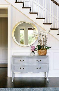 Fabulous Foyer - Round Mirror