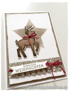 Jetzt dachte ich wirklich, ich wäre mit dem Thema Weihnachtskarten durch, aber jetzt muss ich Euch doch noch diese hier zeigen, die Projekt meines letzten Weihnachtskarten-Workshops war. Hier habe ich zwei Techniken angewandt: einmal die Maskentechnik. Hierzu habe ich aus einem normalen Stück Kopierpapier (möglichst dünn sollte es sein) mit einem Framelit einen Stern ausgestanzt, […]