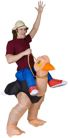 Illusion Ollie Ostrich Adult Costume from Buycostumes - http://shrsl.com/?~6v8p